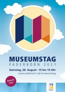 Plakat Museumstag Paderborn 2021
